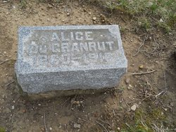 Alice <I>Boyer</I> DuGranrut