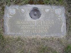 """Marilyn Patricia """"Pat"""" <I>Wehrly</I> Beam"""