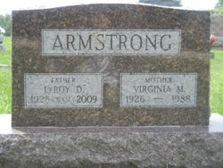 "Virginia Marian ""Gina"" <I>Beadle</I> Armstrong"