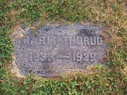 Marit <I>Pederson</I> Thorud