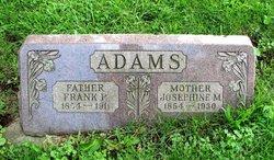 Josephine M. <I>Shuetz</I> Adams