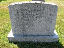 Agnes L. <I>May</I> Allen