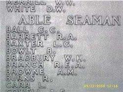 Able Seaman Geoffrey Charles Ball