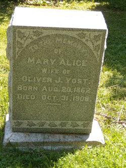 Mary Alice <I>McLaughlin</I> Yost