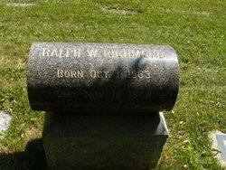 Ralph W Richmond