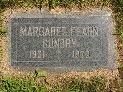 Margaret J <I>Fearn</I> Gundry