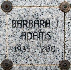 Barbara Jean <I>Carter</I> Adams