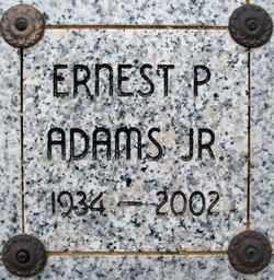 """Ernest Pel """"Ernie"""" Adams Jr."""