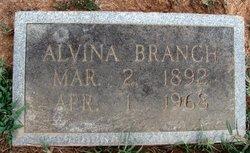 Alvina Wilhelmina <I>Heele</I> Branch