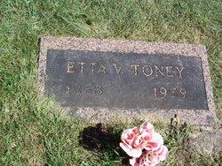Etta Viola <I>Beebe</I> Toney