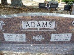 Woodie B Adams