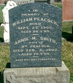 Annie Margaret <I>Smith</I> Peacock