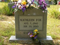Mrs Kathleen <I>Cox</I> Fox