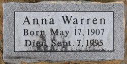 Anna <I>Popernak</I> Warren