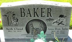 Anna Dean <I>Taylor</I> Baker
