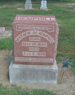 Mathew M. Hemphill
