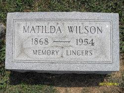 Matilda <I>Perry</I> Wilson