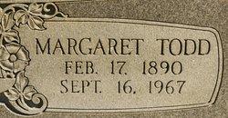 Margaret <I>Todd</I> Holmes
