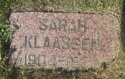 Sarah Klaassen