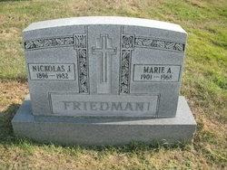 Marie Anna <I>Metz</I> Friedman