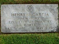 Henry I Garcia
