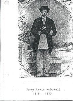 Rev James Lewis McDowell