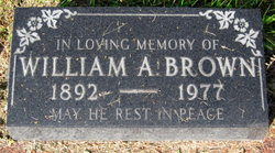 William A Brown