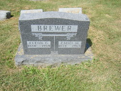Emma May <I>Pierce</I> Brewer