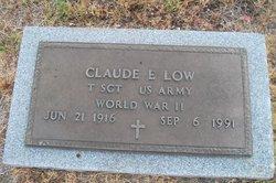 """Claude Eugene """"Gene"""" Low"""