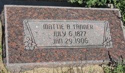 "Meta Anna Caroline ""Mattie"" <I>Albrecht</I> Tanner"
