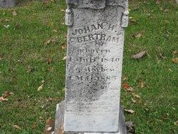 Johan H Bertram