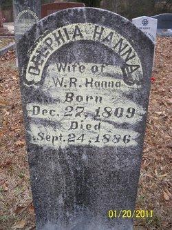 "Philadelphia ""Delphia"" <I>Patterson</I> Hanna"