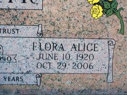 Flora Alice <I>Hallman</I> Adair