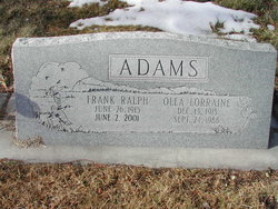 Frank Ralph Adams