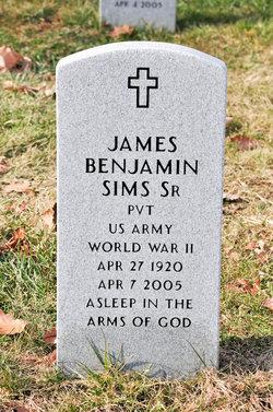 Pvt James Benjamin Sims, Jr