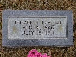 Elizabeth E Allen