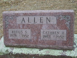 Rufus S Allen
