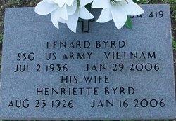 Lenard B. Byrd