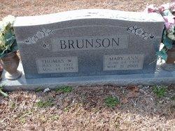 """Thomas William """"Tom"""" Brunson"""