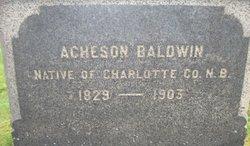 Acheson Baldwin