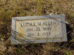 Lucille M Allen