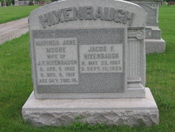 Marinda Jane <I>Moore</I> Hixenbaugh