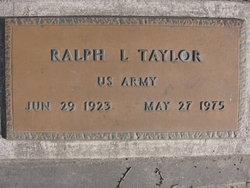 Ralph Lorenzo Taylor