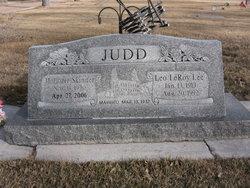 """Leo Leroy """"Lee"""" Judd"""