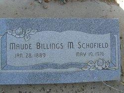 Maude Billings Schofield