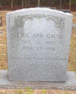 Roxie Ann <I>Cox</I> Gause