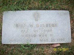 Roy W Culbert