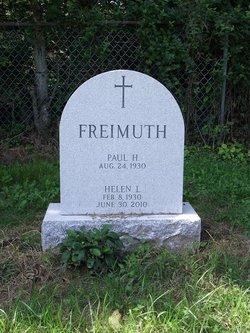 Helen L. <I>Healy</I> Freimuth