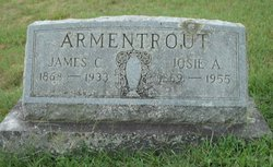 Mrs Josie Adeline <I>Armentrout</I> Armentrout