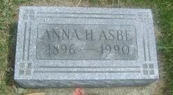 Anna H <I>Sampson</I> Asbe